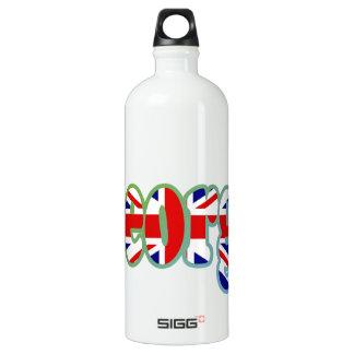 英国国旗の切り出しジョージ ウォーターボトル
