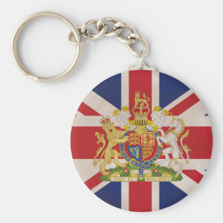 英国国旗の旗の王室のな頂上 キーホルダー