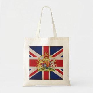 英国国旗の旗の王室のな頂上 トートバッグ