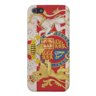英国国旗の旗の王室のな頂上 iPhone 5 CASE
