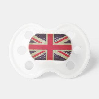 英国国旗の旗の調停者かダミー おしゃぶり
