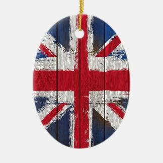 英国国旗の旗プロダクト セラミックオーナメント