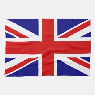 英国国旗の旗 キッチンタオル