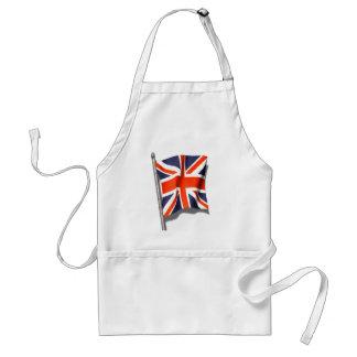 英国国旗の旗 スタンダードエプロン