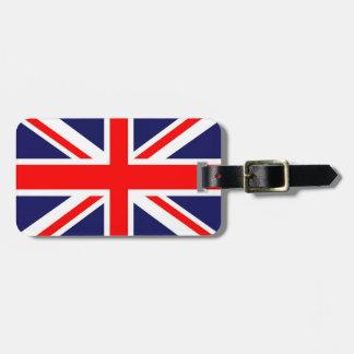 英国国旗の旗 ラゲッジタグ
