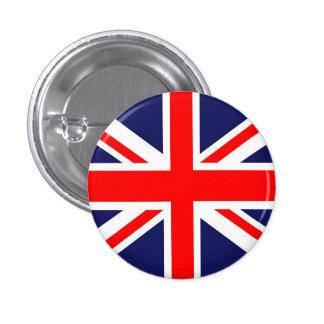 英国国旗の旗 3.2CM 丸型バッジ