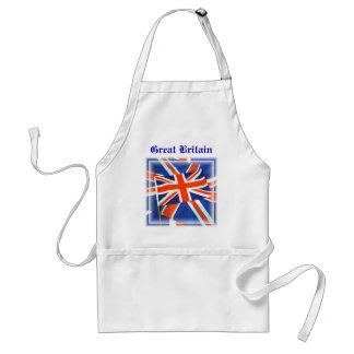 英国国旗の~の標準のエプロン スタンダードエプロン