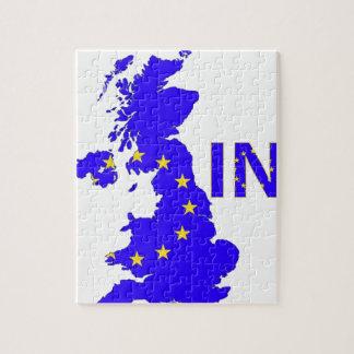 """""""英国国旗のBREXIT """" ジグソーパズル"""