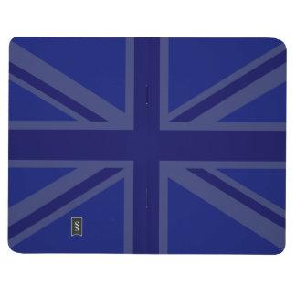 英国国旗イギリスの旗のための青 ポケットジャーナル