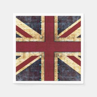 英国国旗イギリスの旗 スタンダードカクテルナプキン