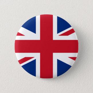 英国国旗イギリス 5.7CM 丸型バッジ