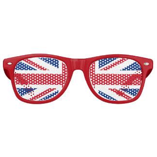 英国国旗ガラス レトロサングラス