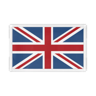 英国国旗クラシックなイギリスの旗 アクリルトレー