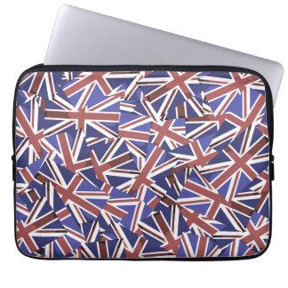 英国国旗パターン ラップトップスリーブ