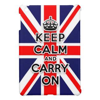 英国国旗平静を保ち、続けていきます iPad MINI カバー