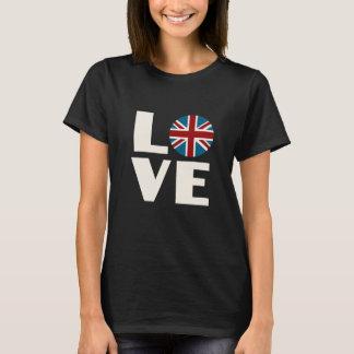 英国国旗愛 Tシャツ