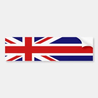 英国国旗独占的なBumberのステッカー バンパーステッカー