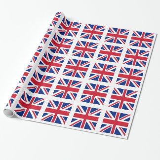 英国国旗-イギリスの旗 ラッピングペーパー