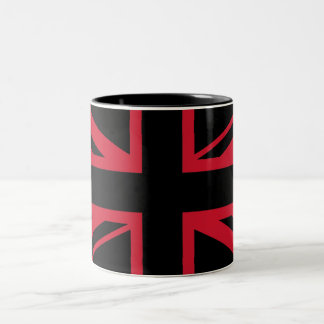 英国国旗 ツートーンマグカップ