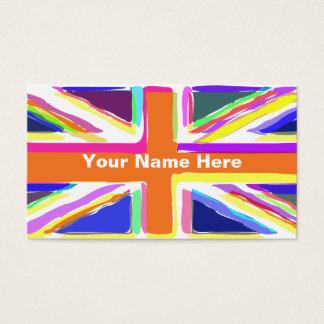 英国国旗 名刺
