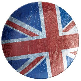英国国旗 磁器プレート