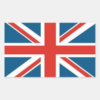 英国国旗 長方形シール