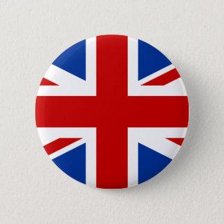 英国国旗 5.7CM 丸型バッジ