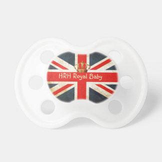 英国国旗HRHの王室のなベビーのカスタムの調停者 おしゃぶり
