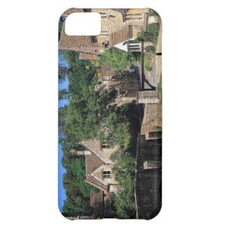 英国場面、Corfeの城の村、ドーセット iPhone5Cケース