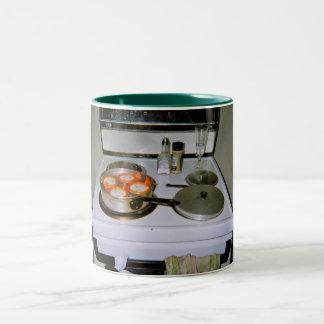 英国式朝食 ツートーンマグカップ