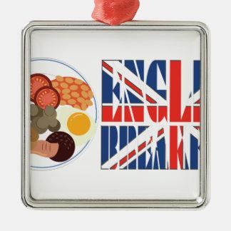 英国式朝食 メタルオーナメント