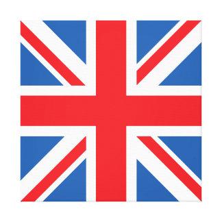 英国旗かジャックのデザイン キャンバスプリント