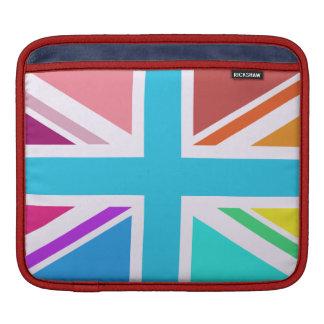 英国旗か多彩ジャックのデザイン- iPadスリーブ