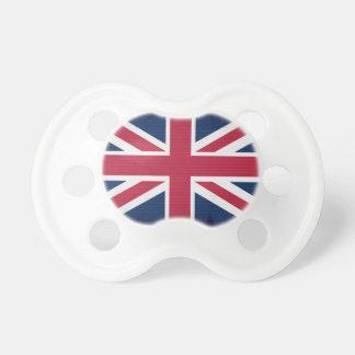 英国旗の英国国旗のイギリスの愛国心が強いデザイン おしゃぶり
