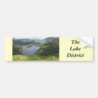 英国湖地区 バンパーステッカー