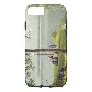 「英語セーヌ河の意見」からのセーヌ河の口、 iPhone 8/7ケース