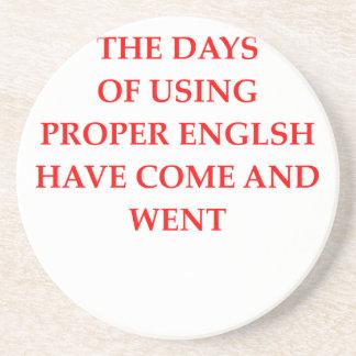 英語 コースター