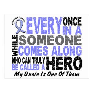 英雄によっては1人の叔父さん前立腺癌が現れります ポストカード