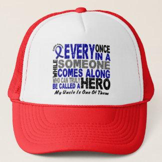 英雄によっては1人の叔父さん結腸癌のTシャツが現れります キャップ