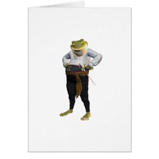 英雄のカエル カード