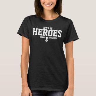 英雄のティー Tシャツ