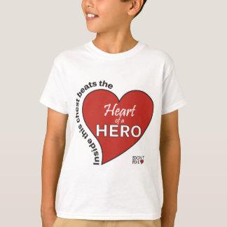 英雄のハート Tシャツ