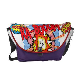 英雄の戦いのバッグのメッセンジャーバッグ メッセンジャーバッグ