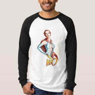 英雄の死のバストのRaglan Tシャツ