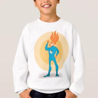 英雄の炎 スウェットシャツ