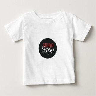 英雄の生命服装 ベビーTシャツ