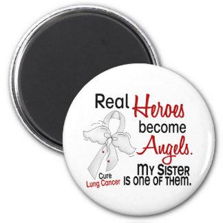 英雄は天使の姉妹の肺癌になります マグネット