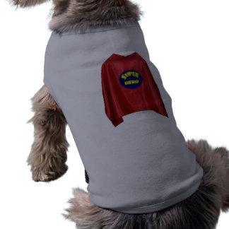 英雄犬のワイシャツ ペット服