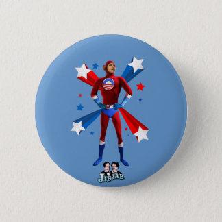 英雄的なオバマ 5.7CM 丸型バッジ