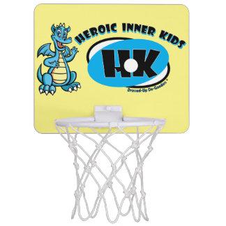 英雄的な内部の子供 ミニバスケットボールゴール